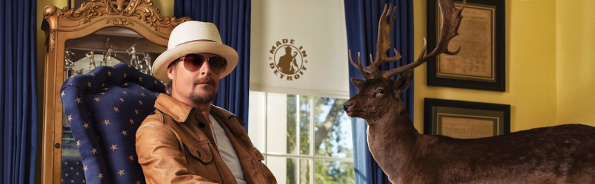 Robert Ritchie (aka Kid Rock) poses in this photo from KidRockForSenate.com.